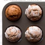 Easy Pumpkin Gingerbread Muffins