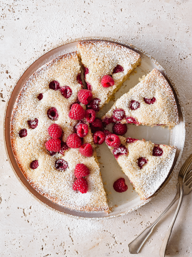 Raspberry Lemon Poppy Seed Cake Fork Knife Swoon