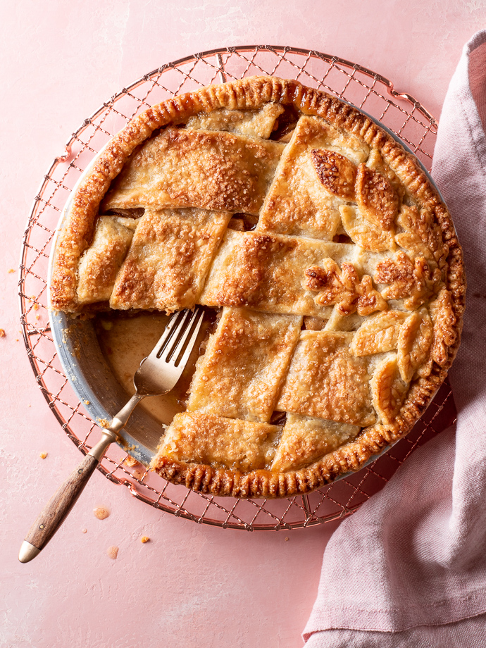 Classic Apple Pie Fork Knife Swoon