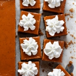 gingersnap pumpkin pie bars via forkknifeswoon.com