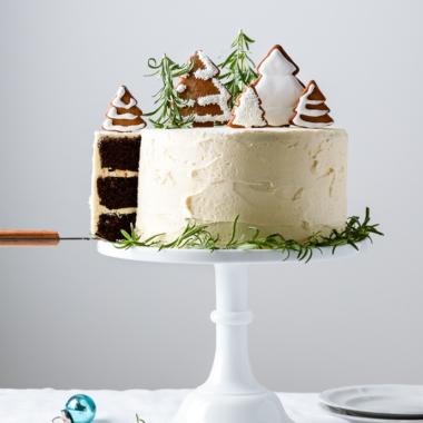 Holiday Chocolate Spice Cake