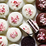 peppermint chocolate covered oreos from forkknifeswoon.com