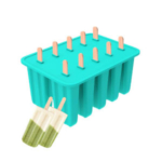 silicone popsicle mold